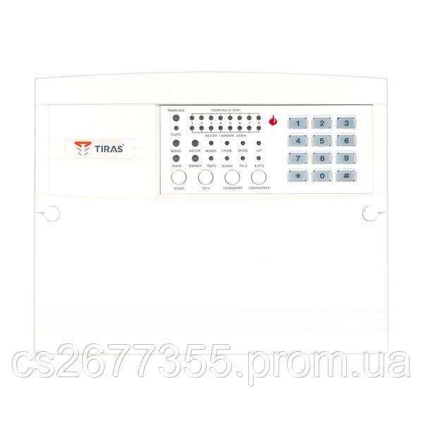 Прилад пожежної сигналізації з вбудованим GSM-комунікатором для невеликих та середніх об'єктів Тірас-4П.1 8П.1
