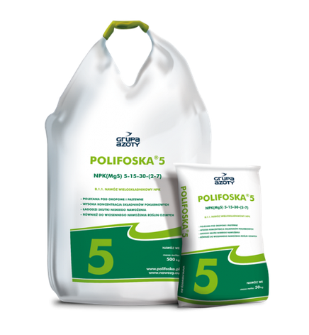 Комплексне добриво Polifoska 5 NPK(MgS) 5‑15‑30-(2‑7), фото 2