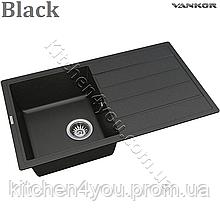 Гранітна мийка VANKOR Easy EMP 02.76 (760х440 мм.) + змішувач і доставка в подарунок!