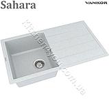 Гранітна мийка VANKOR Easy EMP 02.76 (760х440 мм.) + змішувач і доставка в подарунок!, фото 4