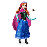 Классическая кукла Принцесса Дисней Анна Холодное сердце с кольцом
