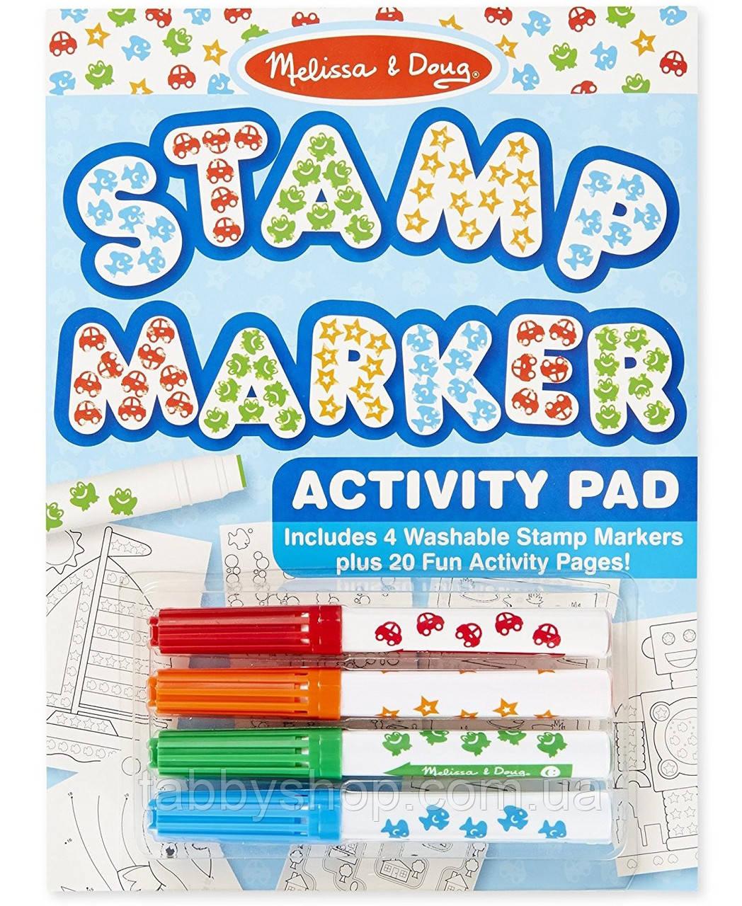 Штампики-маркеры для мальчиков Melissa & Doug