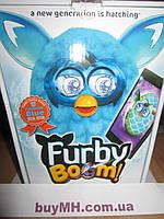 Furby Boom Teal Pattern Edition Фёрби Бум голубой узор спецвыпуск, фото 1