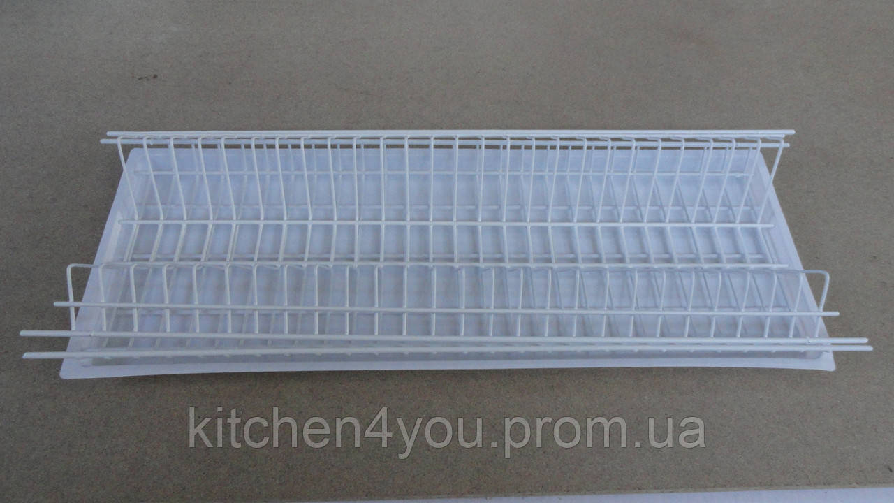 Встраиваемая белая сушка для посуды  в секцию 700 мм.