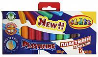 Пластилин Class Чистые руки ECO 12 цветов 200 г
