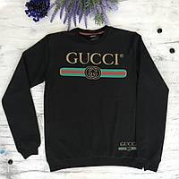 Джемпер для мальчика в стиле Gucci 6. Размеры 13-14 лет. черный