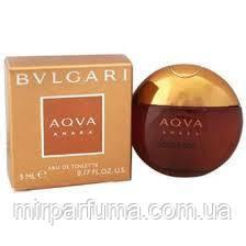 Парфюм мужской Bvlgari Aqva Amara  5 ml, фото 2