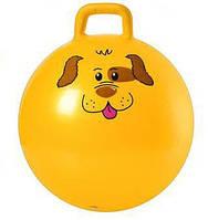 Детский Мяч для фитнеса MS 0486 с рожками 55 см разные цвета