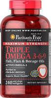 Puritan's pride Omega 3-6-9 Triple Maximum Strength 240 Softgels