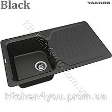 Гранітна мийка VANKOR Sigma SMP 02.85 (850х500 мм.) + змішувач і доставка в подарунок!