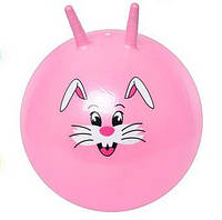 Детский Мяч с рожками для фитнеса MS 0484 прыгун 55 см разные цвета