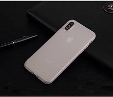 Чехол для Apple Iphone XR силикон soft touch бампер матовый