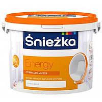 Краска латексная Sniezka Energy 4,2кг/3л