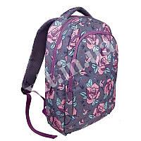 Женский рюкзак Milan, Pink Flowers, фото 1