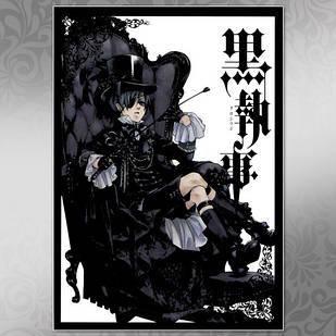 Плакат Аниме Black Butler 010