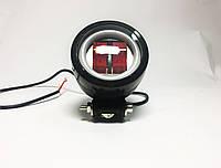 LED Фара STG-20W (круглая) - 2 штуки