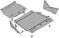 Защита радиатора,картера двигателя и раздатки для Mitsubishi  Pajero Sport New (3 части)