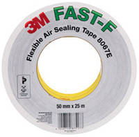 3M Flexible Air Sealing Tape 8067E FAST-F - Эластичная герметизирующая лента 50,0х0,13 мм 25/25, рулон 25 м