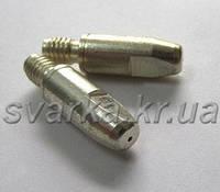 Наконечник (токосъемник) для проволоки Ø 1.0 мм М6 ABITIP Plus с серебряным покрытием