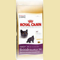 Royal Canin British Shorthair 34 для взрослых кошек породы Британская короткошерстная