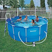 Каркасный бассейн Bestway Steel Pro56088