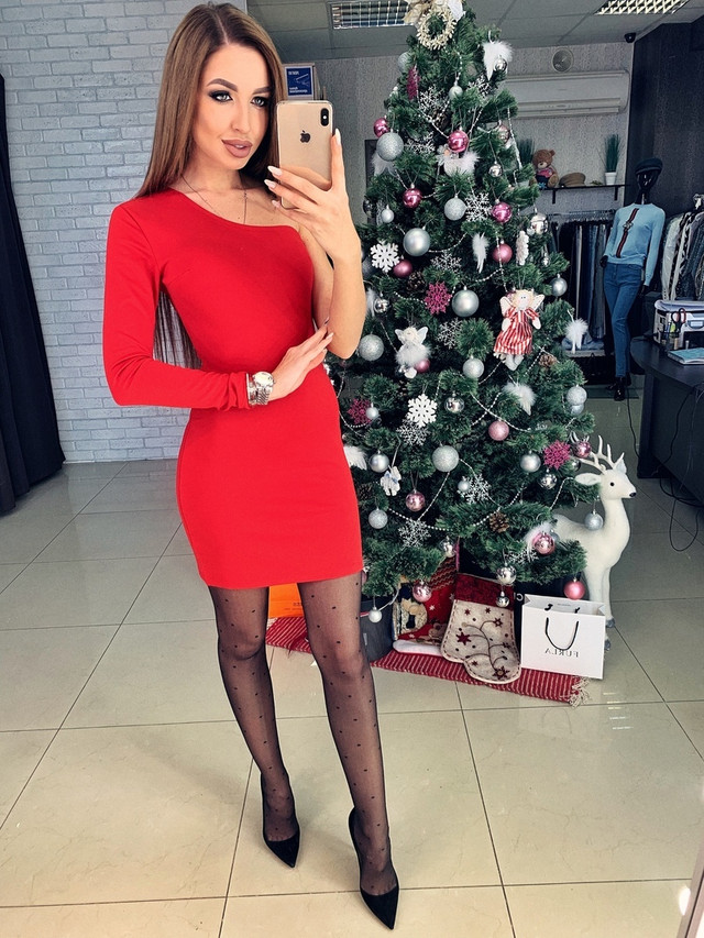 молодежное платье женское