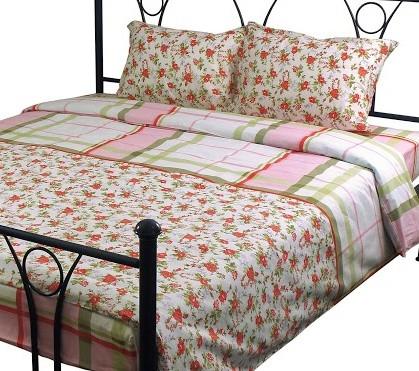 Комплект постельного белья евро РУНО 205х225 Бязь плотность 136гр/м.кв (845.114БК_4857 Софі)