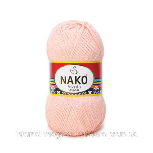 Пряжа Nako Pırlanta Wayuu Рожевий
