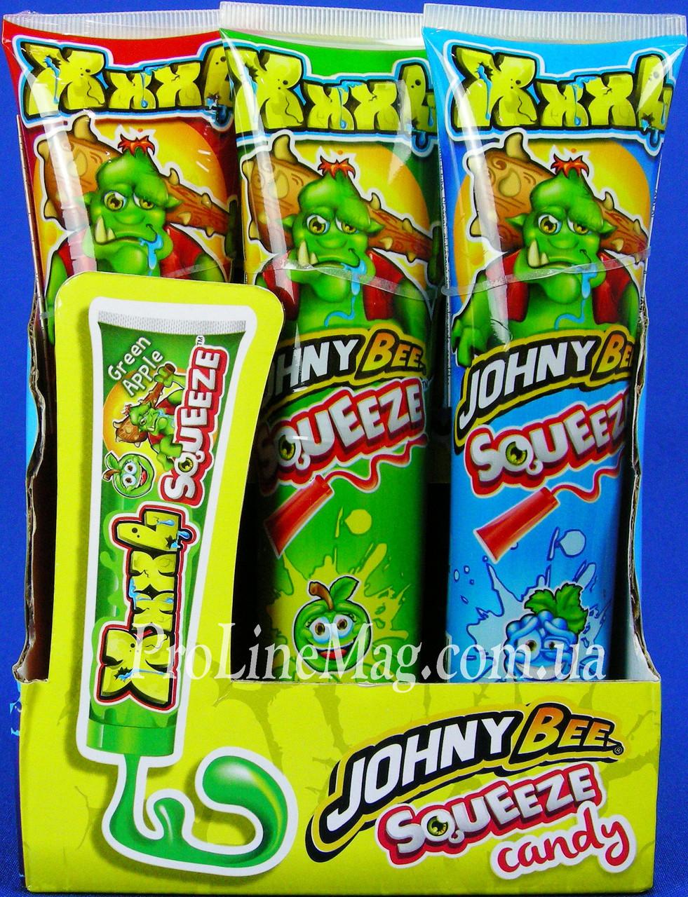 Конфета - гель JOHNY BEE® XXXL SqueeZe 120 гр.