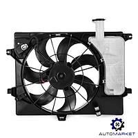 Диффузор радиатора охлаждения Hyundai Elantra 2011-2016 (MD)