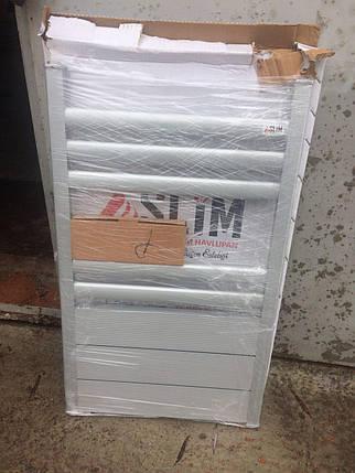 Алюминиевый полотенцесушитель 500*800 с радиатором-сушкой, фото 2