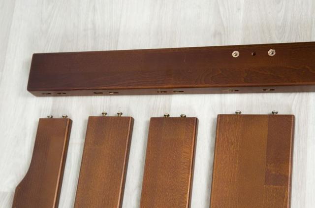 Кровать Ольга (буковый щит) сборка (фото 2)