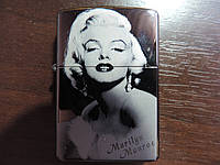 Зажигалка Zippo - Marilyn Monroe. Оригинал.