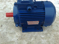 Электродвигатель 2,2 квт 3000 об, лапы, двигатель АИР 80 В2 Производство Украина,