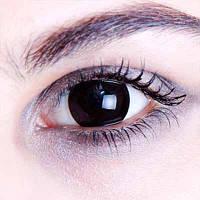 Черные линзы для глаз. Купить черные линзы для глаз в интернет-магазине недорого Украина!