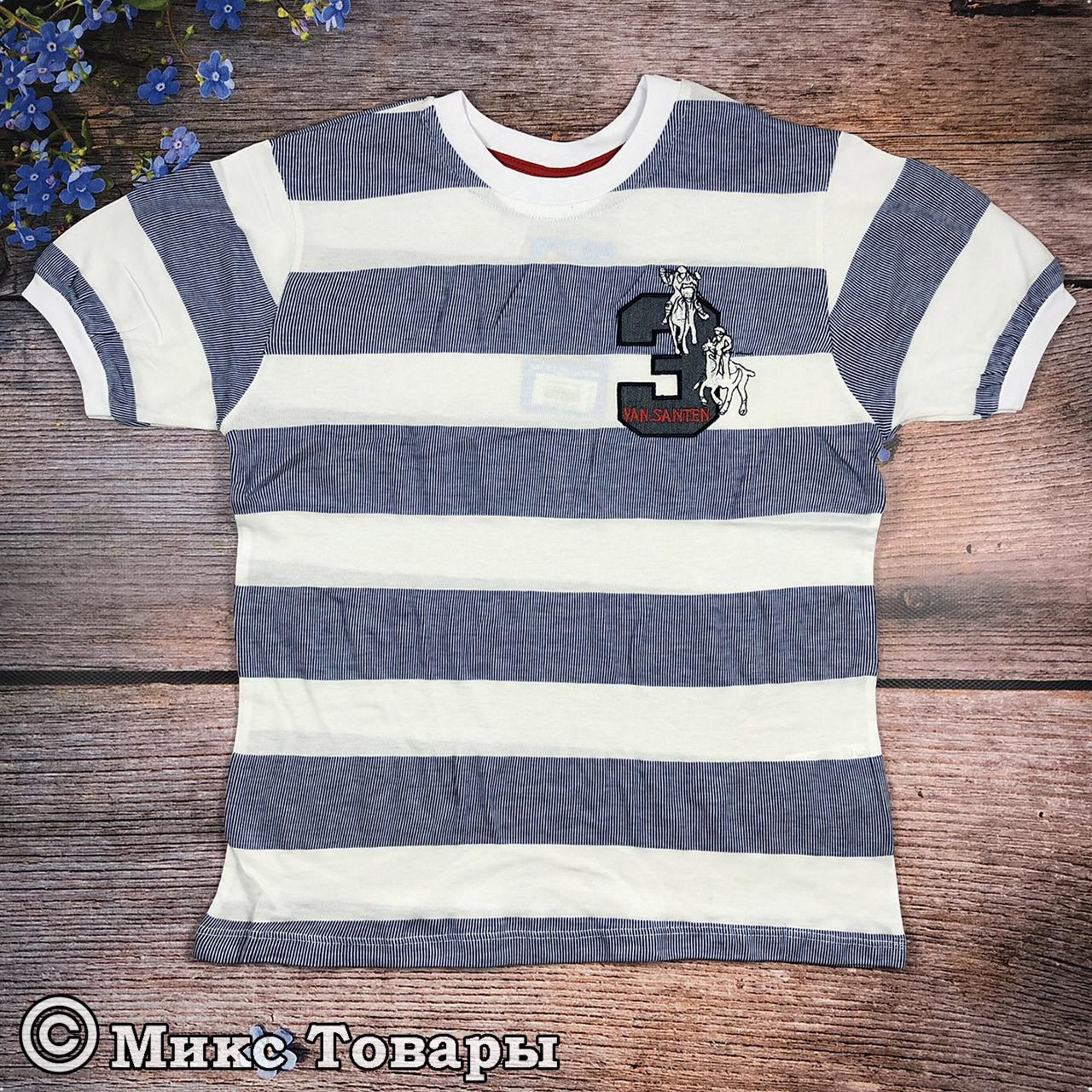 Турецкие футболки для пацанов Размеры:140,152,164,176 см (8066)