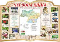 "Стенд ""Червона книга України"""