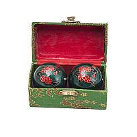 """Шарики здоровья музыкальные """"Сакура"""" диаметр 4,2 см зеленые (В4478а), фото 1"""