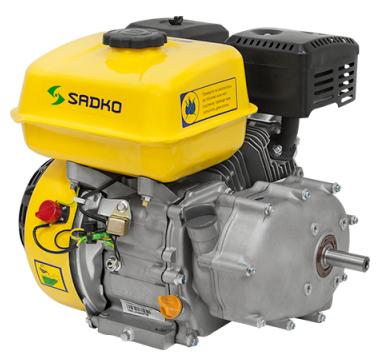 Двигатель бензиновый SADKO GE-270 PRO (9 л.с.)