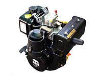Двигатель дизельный BIZON 178F шлицевой выход Ф25