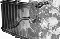 Система охлаждения двигателя ТАТА LPT 613, I-VAN, ЭТАЛОН