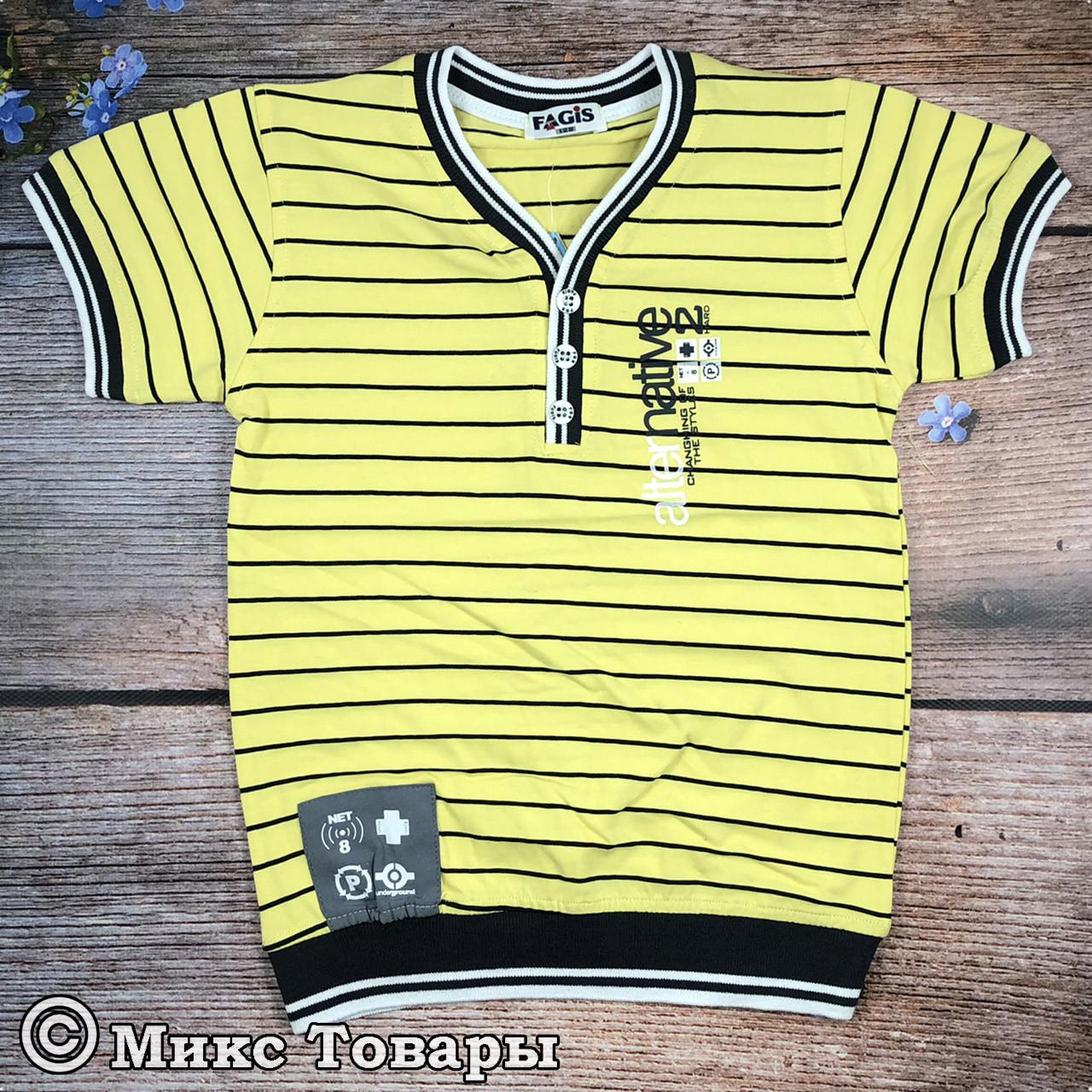 Модные футболки для мальчика фирма Фагис Размеры: 128,152,164 см (8068)
