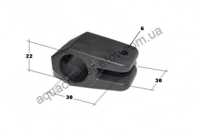 тент на лодку - колибри - крепление проходное (19.005.62)