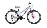 """Женский велосипед Intenzo Terra 26"""" мятный"""