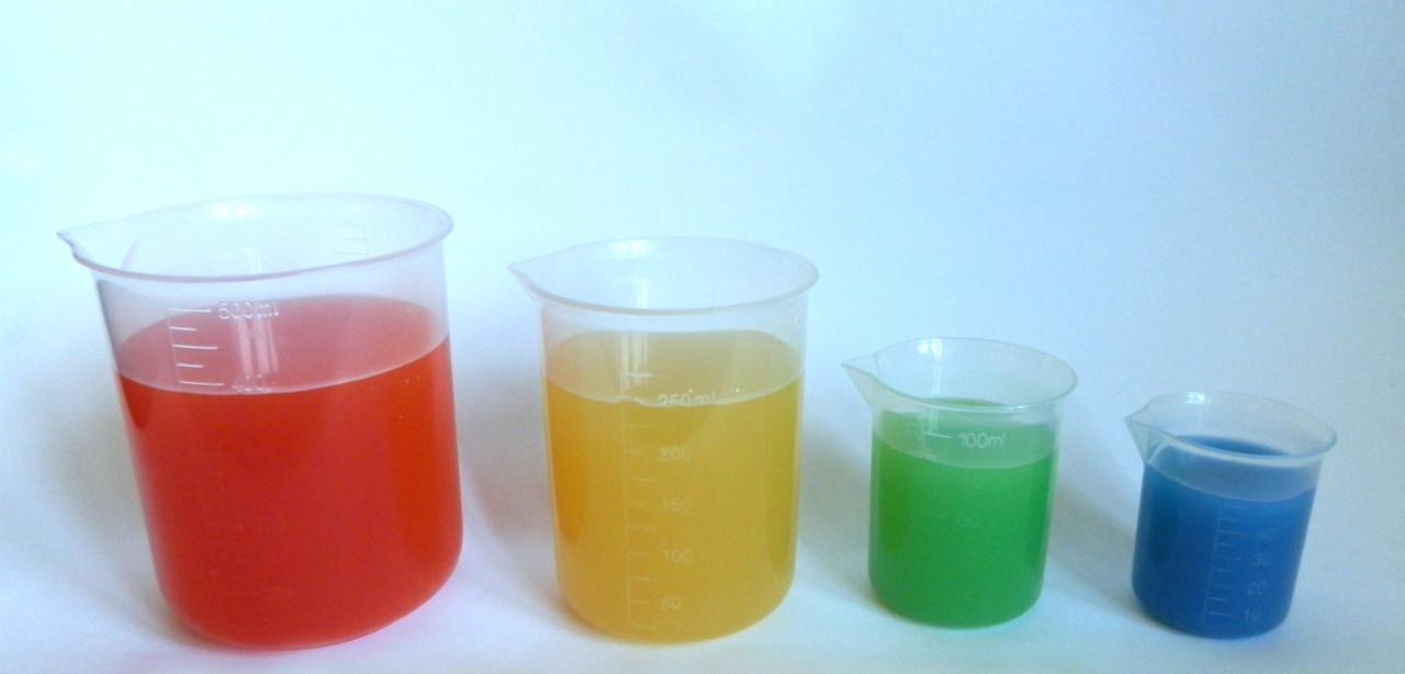 Набір мірного посуду (пластиковий) Набор мерной посуды