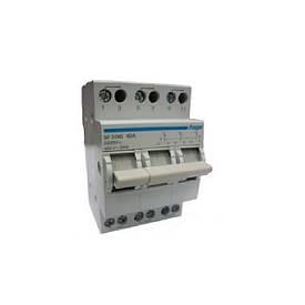 Трьохпозиційний Перемикач 400В/40А, 3-полюсний, 3м hager