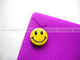 Фиолетовый мягкий чехол для планшета Lenovo Yoga Tablet 3 10 X50 (YT3 - X50M, X50L) бампер силиконовый TPU, фото 4