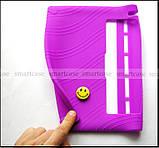 Фиолетовый мягкий чехол для планшета Lenovo Yoga Tablet 3 10 X50 (YT3 - X50M, X50L) бампер силиконовый TPU, фото 2
