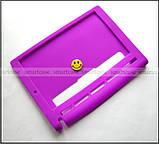 Фиолетовый мягкий чехол для планшета Lenovo Yoga Tablet 3 10 X50 (YT3 - X50M, X50L) бампер силиконовый TPU, фото 6
