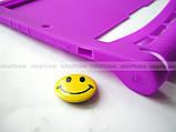 Фиолетовый мягкий чехол для планшета Lenovo Yoga Tablet 3 10 X50 (YT3 - X50M, X50L) бампер силиконовый TPU, фото 7